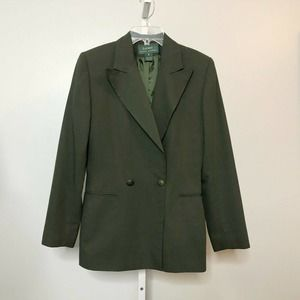 Vintage LRL Double Breasted Equestrian Blazer